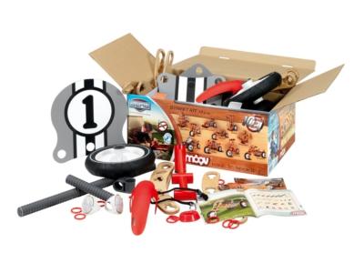BERG MOOV Street Kit (10 in 1) – Build-and-Ride Go-Kart 21 01 00 01